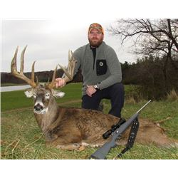 Five Star Ohio Whitetail Hunt for Two Hunters