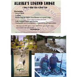 5-day Cast and Blast Adventure in Alaska