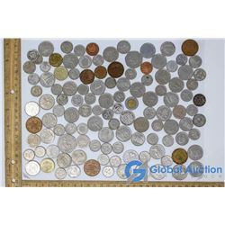 (118) Foreign Coins