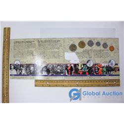 2003 Set Coronation Commemorative Coins