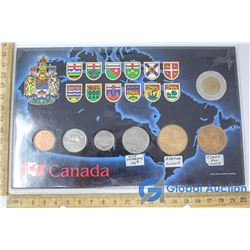 Set of Canadian 2005 Coins