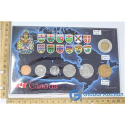 Set of Canadian 2008 Coins