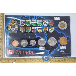 Set of Canadian 2009 Coins