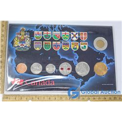 Set of Canadian 2010 Coins