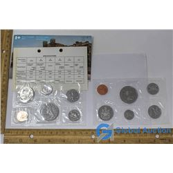 1974 & 1978 Royal Canadian Mint Set