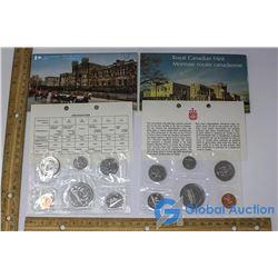 1973 & 1978 Royal Canadian Mint Set