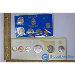 (2) Canadian Coin Sets