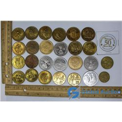 Collection of Misc Medallions