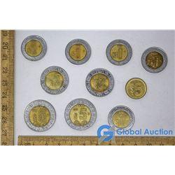 (10) Mexican Pesos