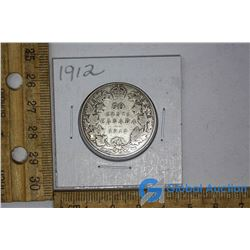 1912 Silver Dollar Canadian Coin