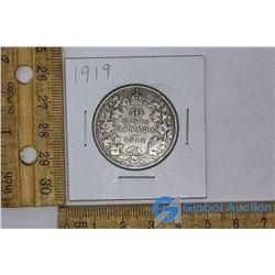 1919 Silver Dollar Canadian Coin