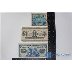 (3) Foreign Paper Bills