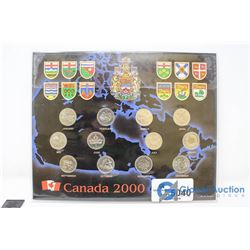 Canada 2000 25 Cent Collection
