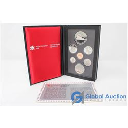 1986 Royal Canadian Mint Coin Set
