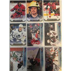 Upper Deck Canvas 9 Card Lot Corey Perry, Brian Elliot,