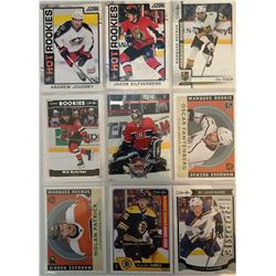 9 Card Rookie Lot Alex Tuch, Will Butcher, Jose Theodore,