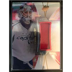 2016-17 SPX Red Materials Braden Holtby Card #48