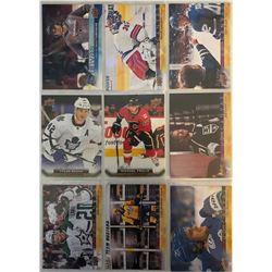 Upper Deck Canvas 9 Card Lot Tyler Bozak X 2,Jeff Carter,