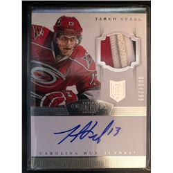 2013-14 Panini Dominion Auto Jersey Jared Staal RC
