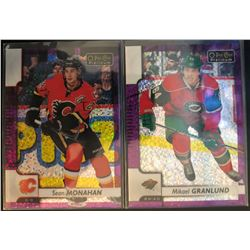 2017-18 O-Pee-Chee Violet Pixels Mikael Granlund #22,