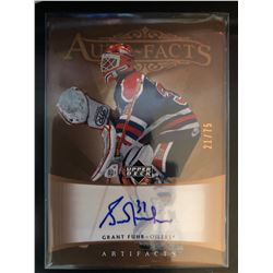2005-06 Artifacts Auto-Facts Grant Fuhr Serial #21/75