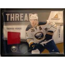 2011-12 Pinnacle Threads Thomas Vanek Card #3 Jersey