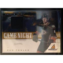 2011-12 Pinnacle Game Night Materials Cam Fowler