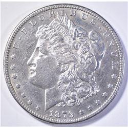 1879-S REV OF 78 MORGAN DOLLAR  AU/BU