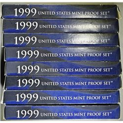 8-1999 U.S. PROOF SETS