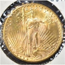 1924 $20.00 SAINT GAUDENS GOLD