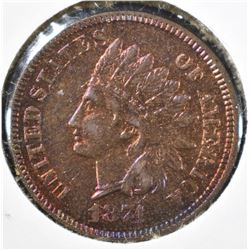 1874 INDIAN HEAD CENT