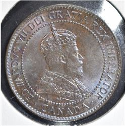 1902 CENT CANADA  1ST YEAR TYPE
