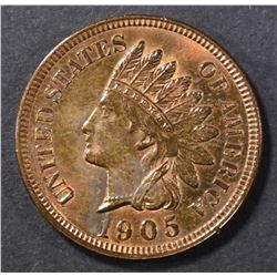 1905 INDIAN HEAD CENT  GEM BU