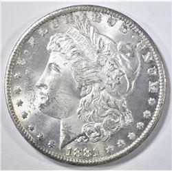 1881-CC MORGAN DOLLAR  GEM BU