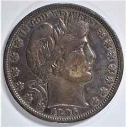 1896-O BARBER HALF DOLLAR  XF