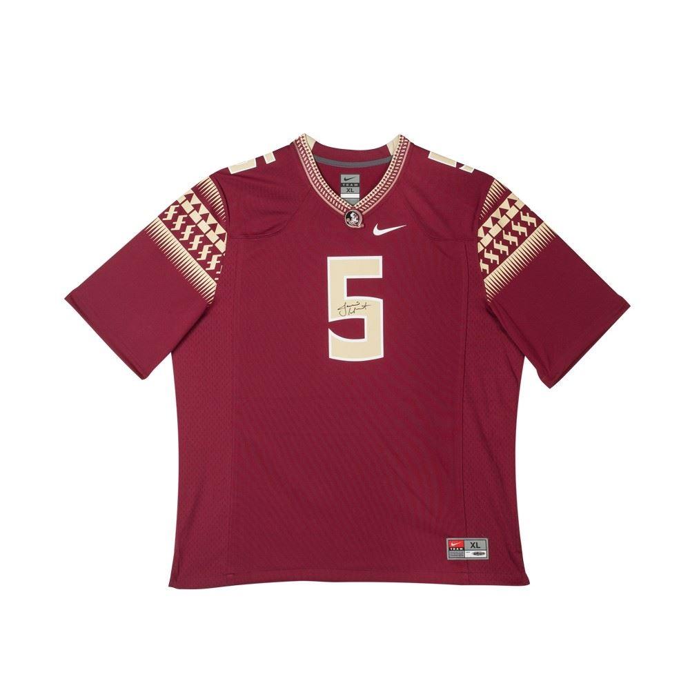 promo code f775a c658c Jameis Winston Signed LE Florida State Seminoles Nike Jersey