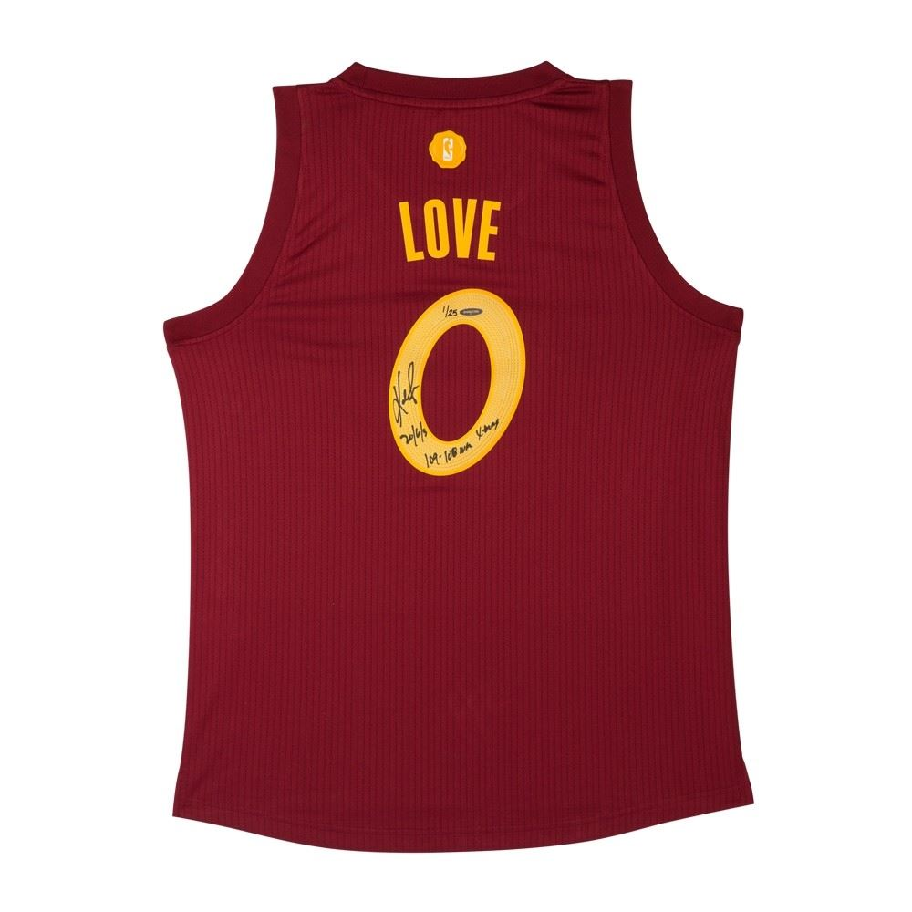 official photos 839b0 944e0 Kevin Love Signed Cavaliers Limited Edition Jersey Inscribed ...