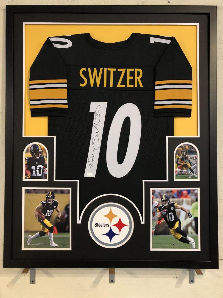 new style 5072e 29597 Ryan Switzer Signed Pittsburgh Steelers 34x42 Custom ...