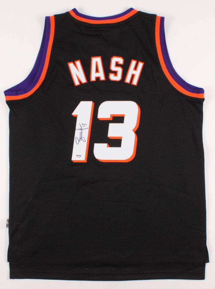 newest a3dcb 08b3c Steve Nash Signed Phoenix Suns Jersey (PSA Hologram)