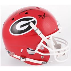 348455d64 Herschel Walker Signed Georgia Bulldogs Full-Size Helmet Inscribed