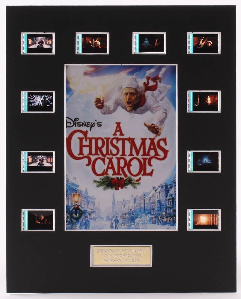 Original Christmas Carol Movie.A Christmas Carol 8x10 Custom Matted Original Film Cell