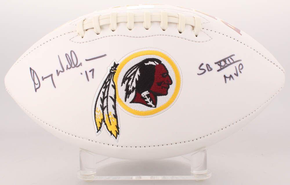 a9fed1c0 Image 1 : Doug Williams Signed Washington Redskins Logo Football Inscribed