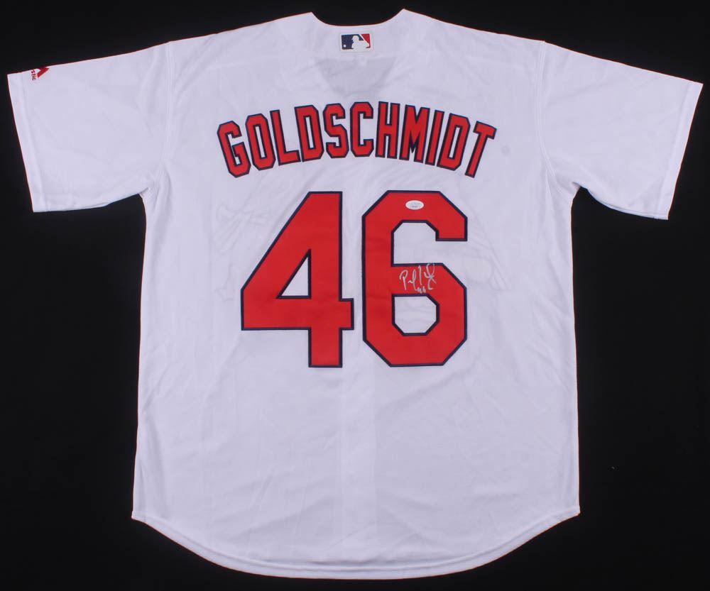 cd1e788e Paul Goldschmidt Signed St. Louis Cardinals Jersey (JSA COA)