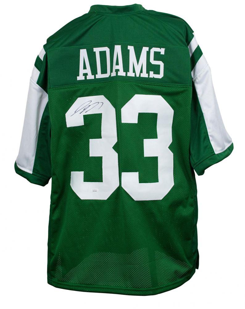 buy popular 9e77f 1734c Jamal Adams Signed New York Jets Jersey (JSA COA)