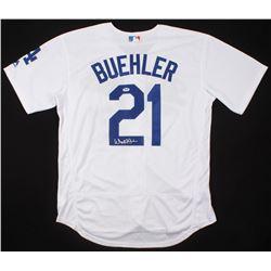 finest selection 5eb50 84566 Walker Buehler Signed Los Angeles Dodgers Jersey (PSA COA)