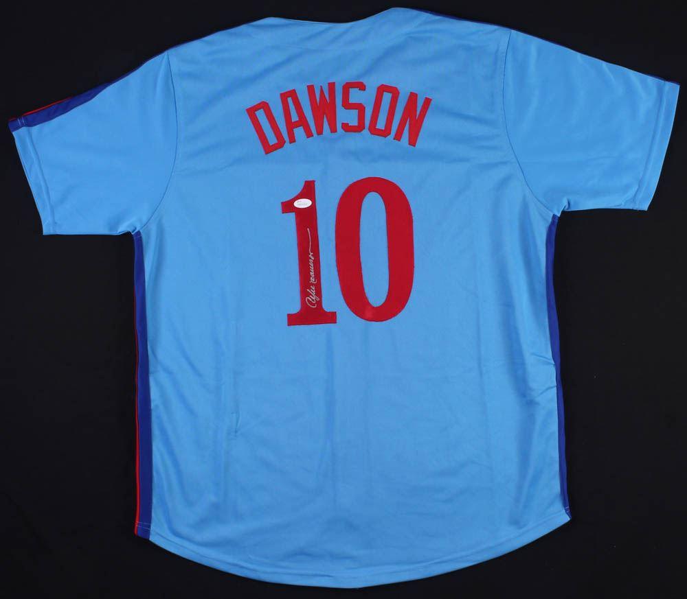 meet 4ec13 abb23 Andre Dawson Signed Montreal Expos Jersey (JSA COA)