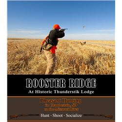 South Dakota Pheasant Hunt for 4 Hunters
