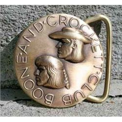 Boone and Crockett Club Logo Belt Buckle