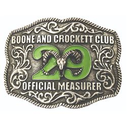 29th Awards OM Belt Bucklet