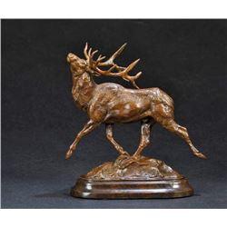 """Elk Bronze """"Wapiti"""""""